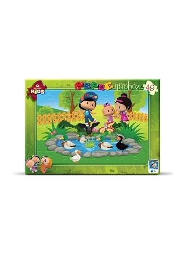 Art Puzzle Kutu Oyunları Renksiz